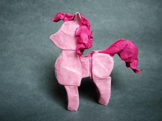 Pinkie Pie Origami by mitanei