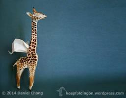 Winged Coffee Giraffe by mitanei