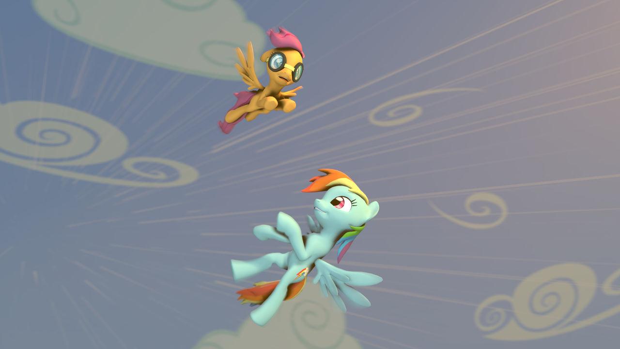 [SFM] Fly High by EpicLPer