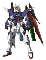 Destiny Gundam Ver. Rekkou by Rekkou