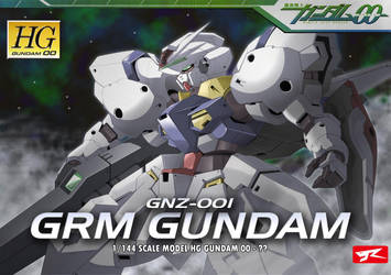 GRM Gundam Box Art by Rekkou