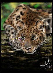 Amur Leopard by MEJ0NY