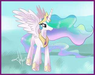 Princess Celestia by MEJ0NY