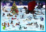 CHRISTMAS COLLAB 2015 by MEJ0NY