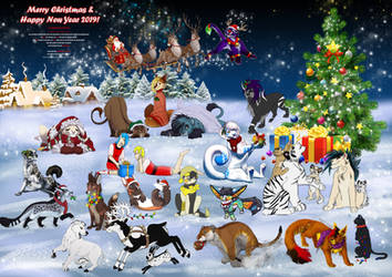 christmas collab 2018 by MEJ0NY