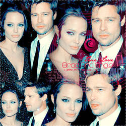 Brad Pitt And Angelina Jolie by Adams18