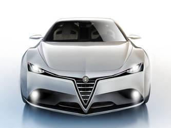 Alfa Romeo Giulia Concept Front by Thorsten-Krisch
