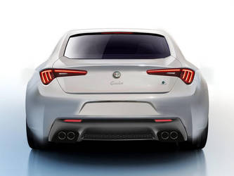 Alfa Romeo Giulia Concept rear by Thorsten-Krisch