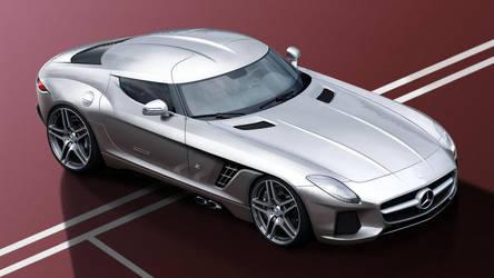 Mercedes SLS AMG ZAGATO concept by Thorsten-Krisch