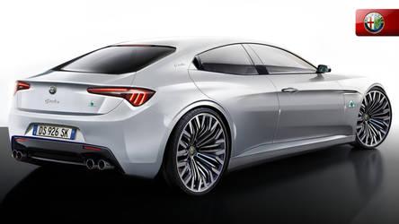 Alfa Romeo Giulia Concept Rearangle by Thorsten-Krisch