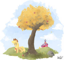 [MLP] Appletree by DatPonyPL