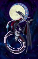 Goddess of moon by DaiKyraRaga