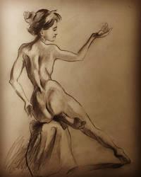 figure drawing 30mins practice by randyjackson20