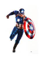 Captain America by MattWArt