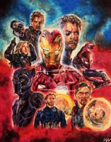 Avengers: Infinity War by MattWArt