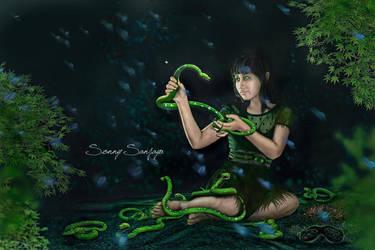Companion Snakes by sanjayaisland