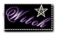 Witch Stamp by Mikky
