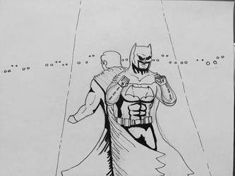 I've got your back Bruce WIP by bracecomix01