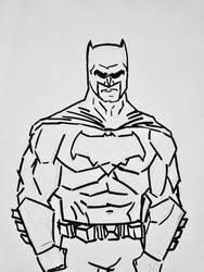 Batman sketch by bracecomix01