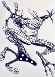 Cyberfrog fan art by bracecomix01