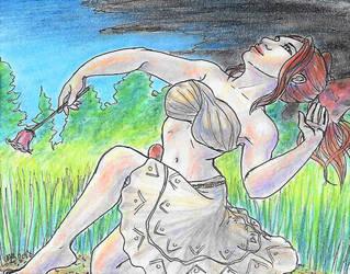Fanart- Nyaleh's Storm Dance by GreenAngel5