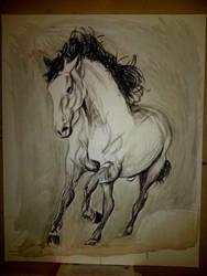 horse by kyleangelobenedetti