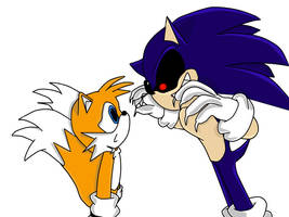 Sonic.exe: Hide and Seek by iammemyself