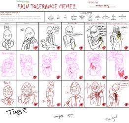 Pain Tolerance meme by mister-eeg