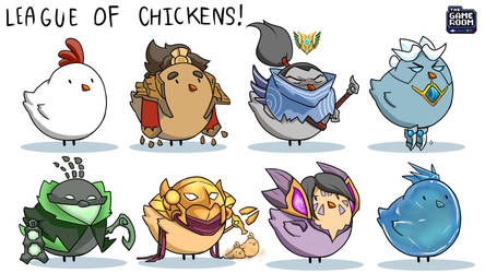 League of Chickens by mickking