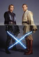 Anakin and Obi-Wan Take a Dip by hitokirivader
