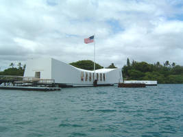 USS Arizona Memorial by hitokirivader