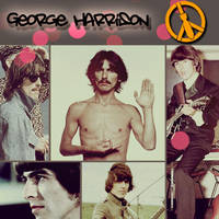 Collage George Harrison by imaginestrawberries