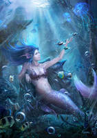Mermaid by xuanlim