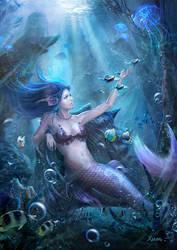 Mermaid by xuanlim
