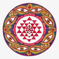 TOOL Mandala by ChaoticatCreations