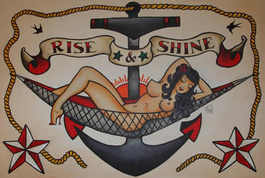 Sailor Jerry Commission by ChaoticatCreations