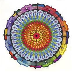Universe Mandala by ChaoticatCreations