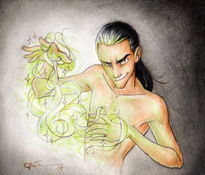 Once again: Loki! by CaptBexx