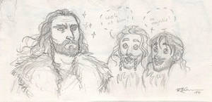 Thorin..... and Kili and Fili by CaptBexx