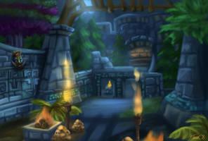 World of Warcraft - Zul'Aman by TaraOBerry