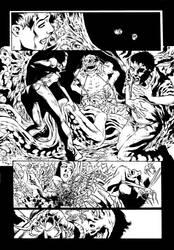 Hellraiser Page 15 Inker Mrcio Loerzer by marcioloerzer