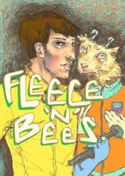 fleece n bees by strangerthanever
