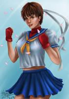 Sakura Fan Art by CGHow