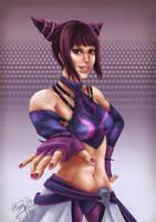 Juri, Street Fighter Fan Art by CGHow