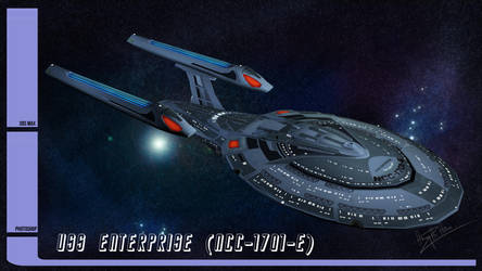 Star trek : Star Ship Enterprise (NCC-1701-E) by CGHow