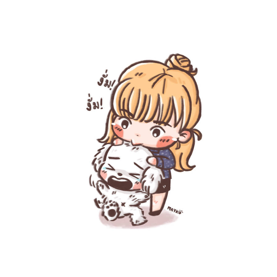 Lisa Blackpink Cartoon Drawing