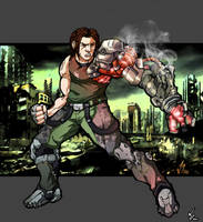 Bionic Commando by WillJonesArt