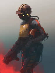 Scout speedpainting. Done for 1,5 hour by Datem