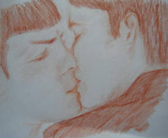 Spock and Kirk by Lakkane