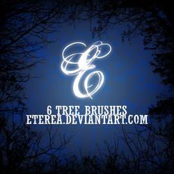 TREE BRUSHES - HISPANART by Eterea86